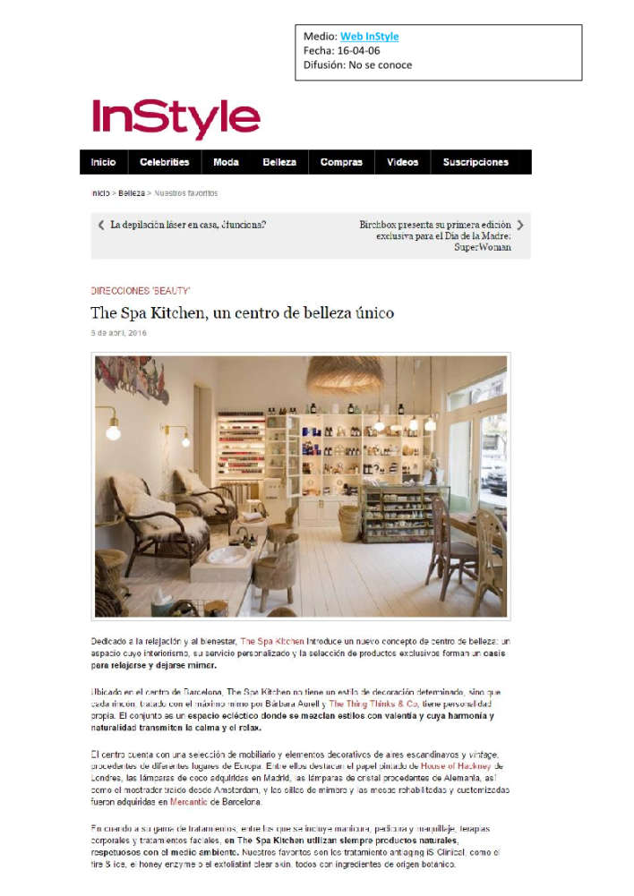 Spa web instyle