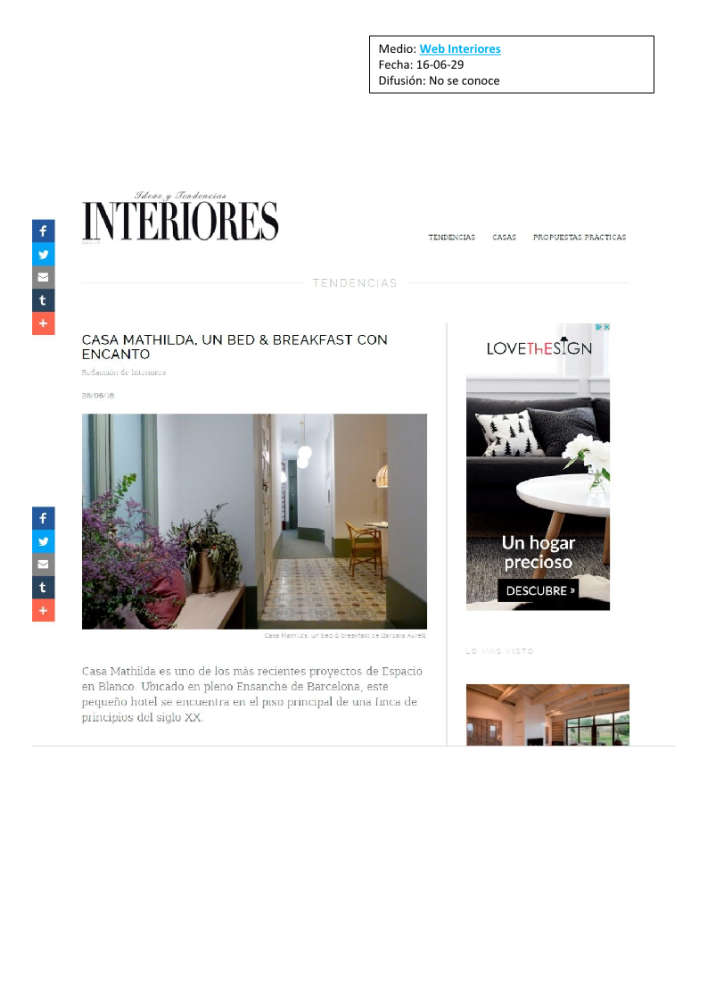 Mathilda web interiores